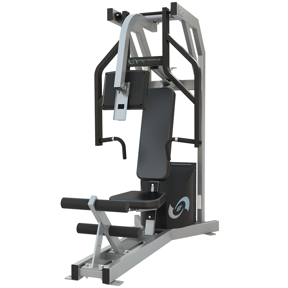 Chest press row exerbotics