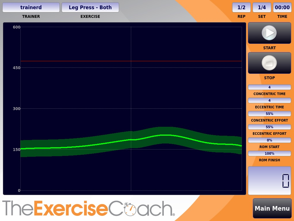 exercise screen